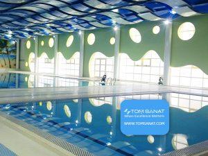 بازسازی استخر مجموعه ورزشی سازمان انرژی اتمی